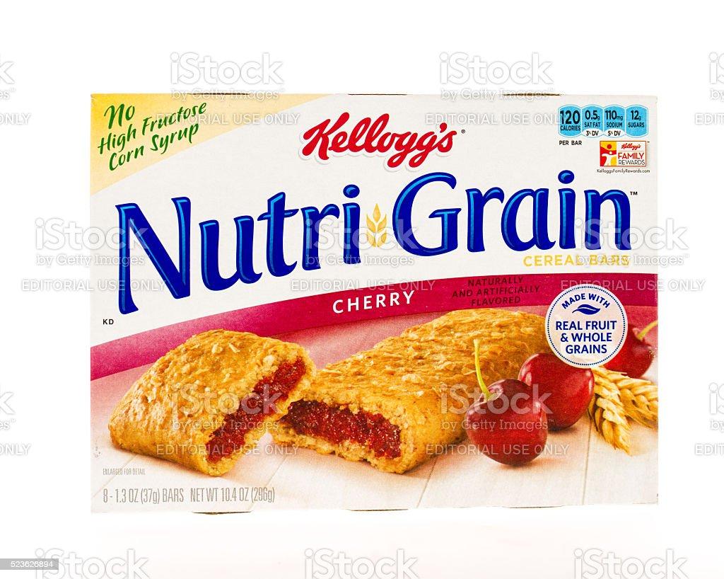 Kellog's Nutri Grain stock photo