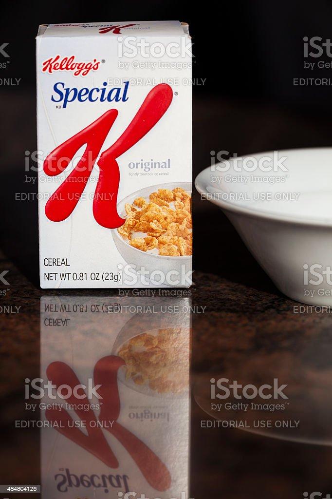 Kellog's Special K breakfast Cereal stock photo