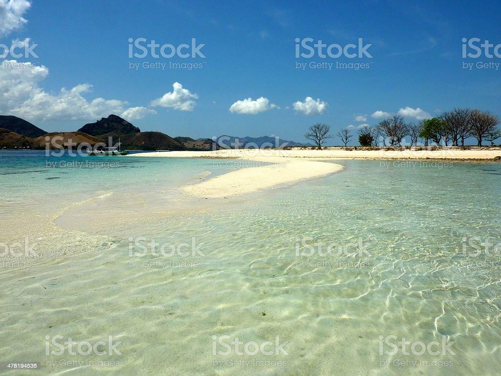 Kelor island, Flores Indonesia stock photo