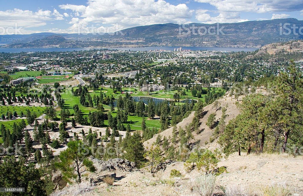 Kelowna, BC stock photo