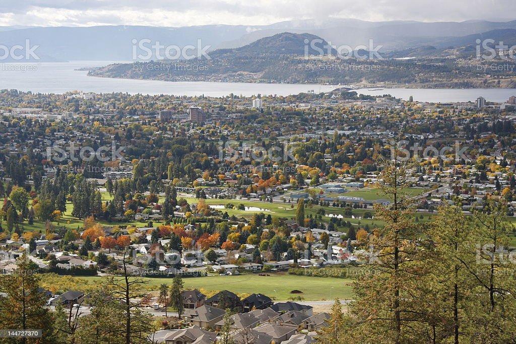Kelowna, BC royalty-free stock photo