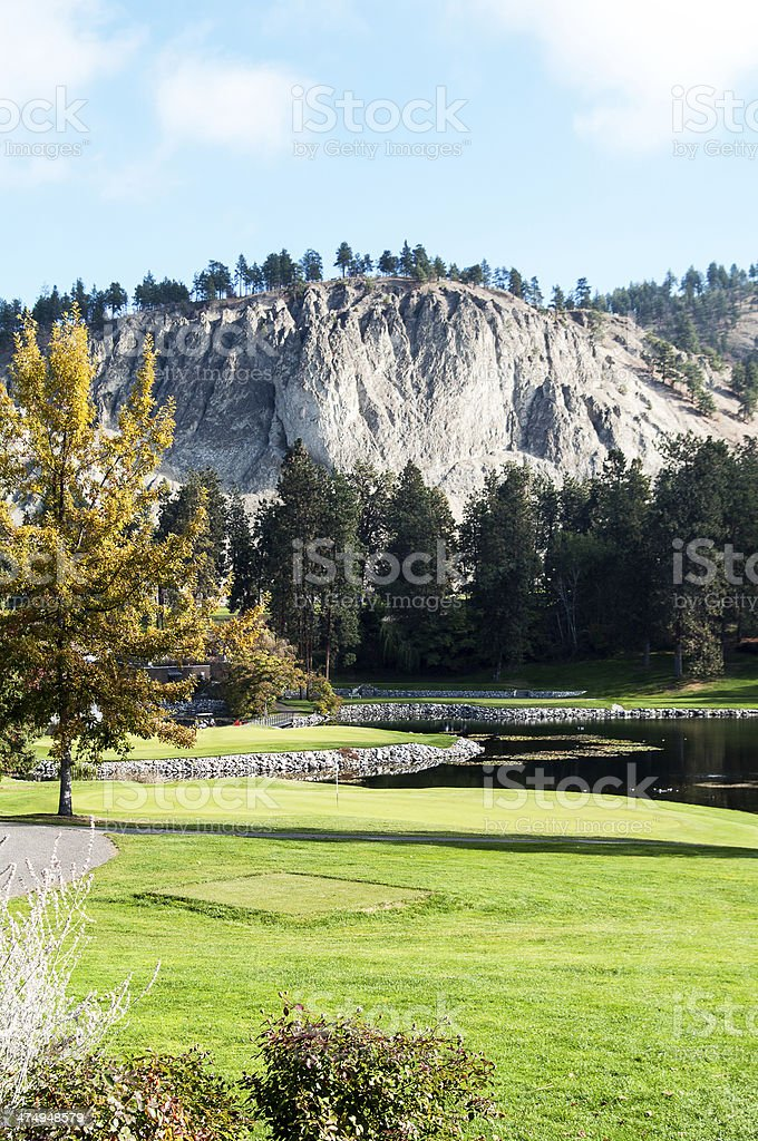 Kelowna Golf and Country Club stock photo