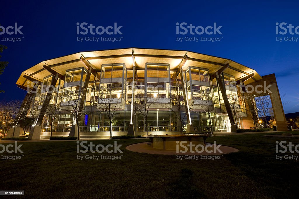 Kelowna Public Library stock photo