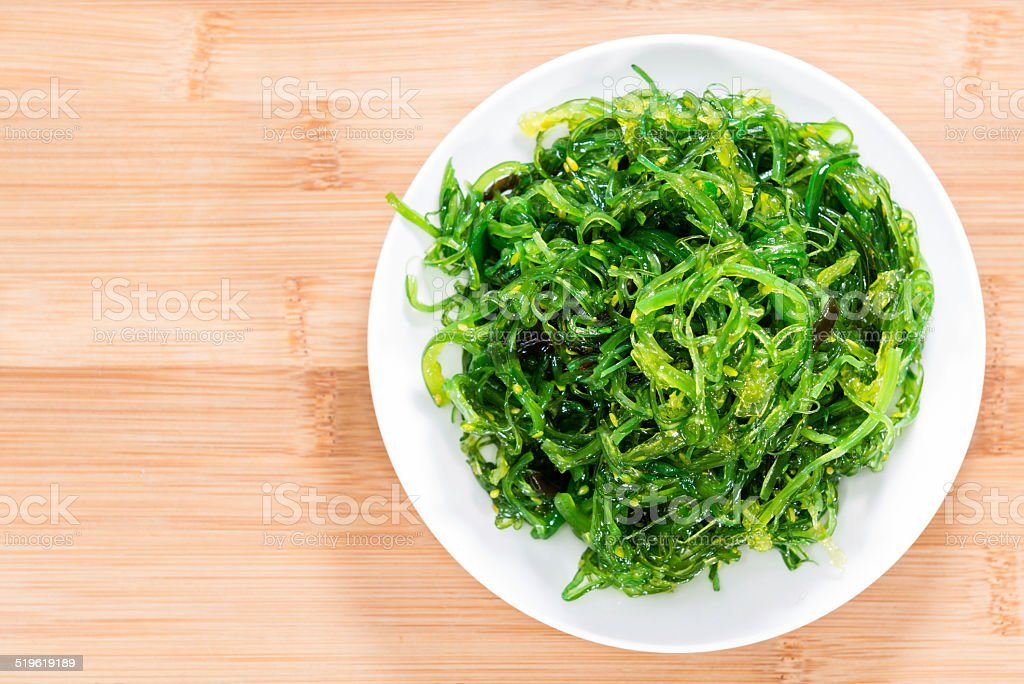 Kelp Salad stock photo