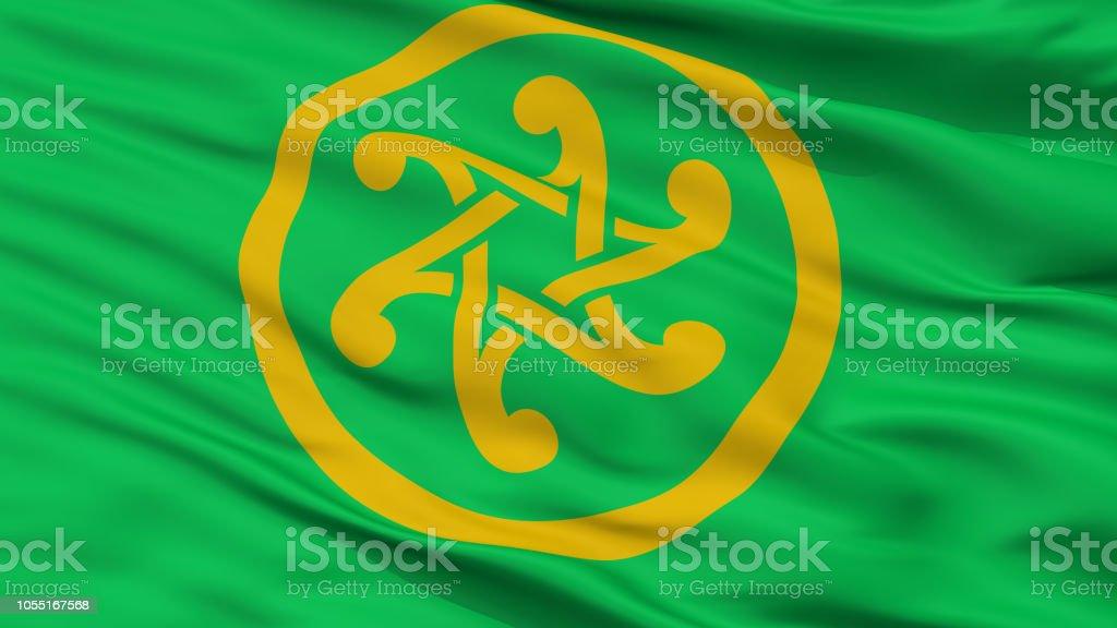 Keltia Flag, Closeup View stock photo