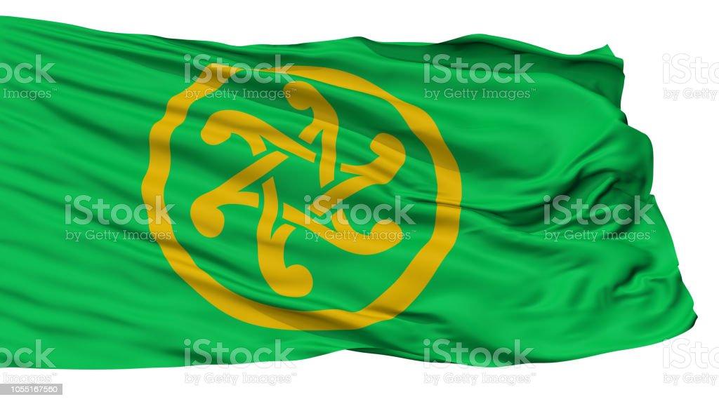 Keltia Flag, Isolated On White stock photo