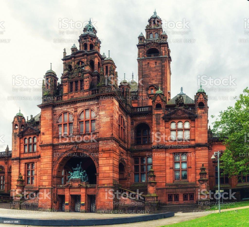 Kelvingrove museum, Glasgow, Scotland stock photo