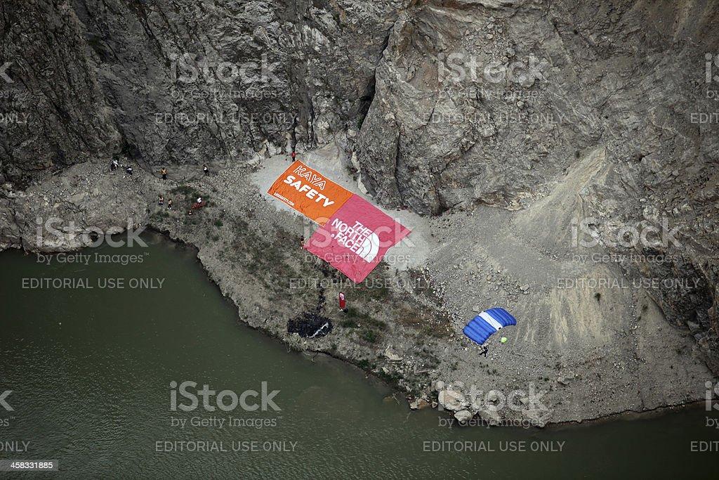 Kemaliye Dark Canyon royalty-free stock photo