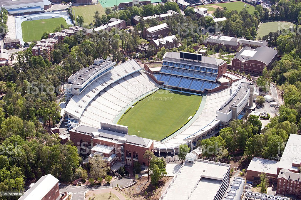 Kenan Stadium - Aerial View stock photo