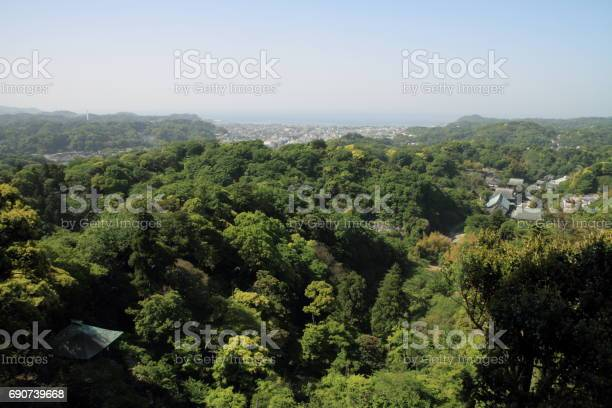 Kencho ji and cityscape of kamakura from top of mountain in kamakura picture id690739668?b=1&k=6&m=690739668&s=612x612&h=ibae27gef7sdgoitfkut9m9 grbpdikuszjxyfzupqe=