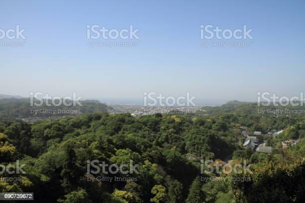 Kencho ji and cityscape of kamakura from top of mountain in kamakura picture id690739672?b=1&k=6&m=690739672&s=612x612&h= upjqn lgfroxukxe75hn6ertyqvk9jyota5p5eftsi=