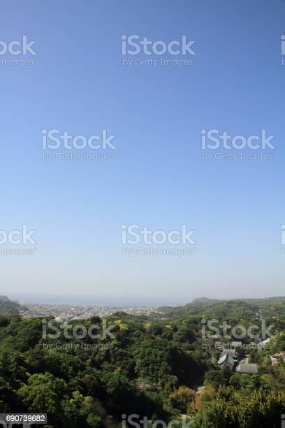 Kencho ji and cityscape of kamakura from top of mountain in kamakura picture id690739682?b=1&k=6&m=690739682&s=612x612&h=al40pr2l yu kkuo4baaud9ahu0hgya4 os8bzlkkhy=