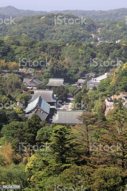Kencho ji from top of mountain in kamakura kanagawa japan picture id680542006?b=1&k=6&m=680542006&s=612x612&h=xnqkag78tzknfq2q2hsr8ncrysq cfiyk5mx3gvwkty=