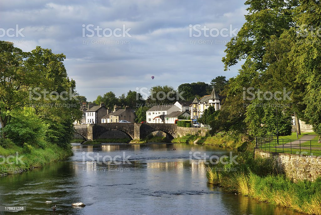 Kendal River Scene stock photo