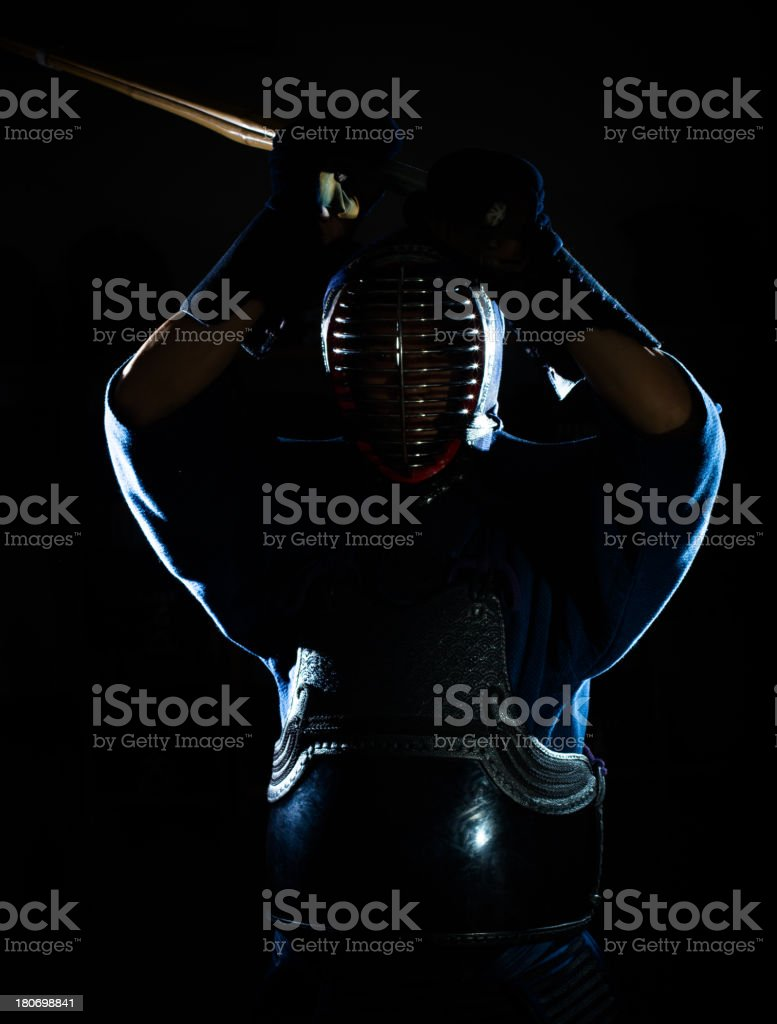 Kendo royalty-free stock photo