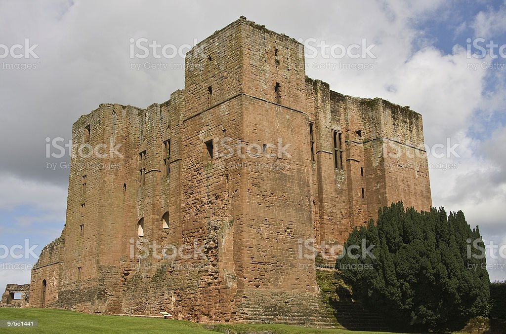 Kenilworth Castle Keep royalty-free stock photo