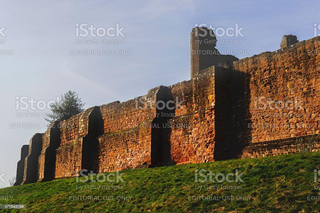 kenilworth castle royalty-free stock photo