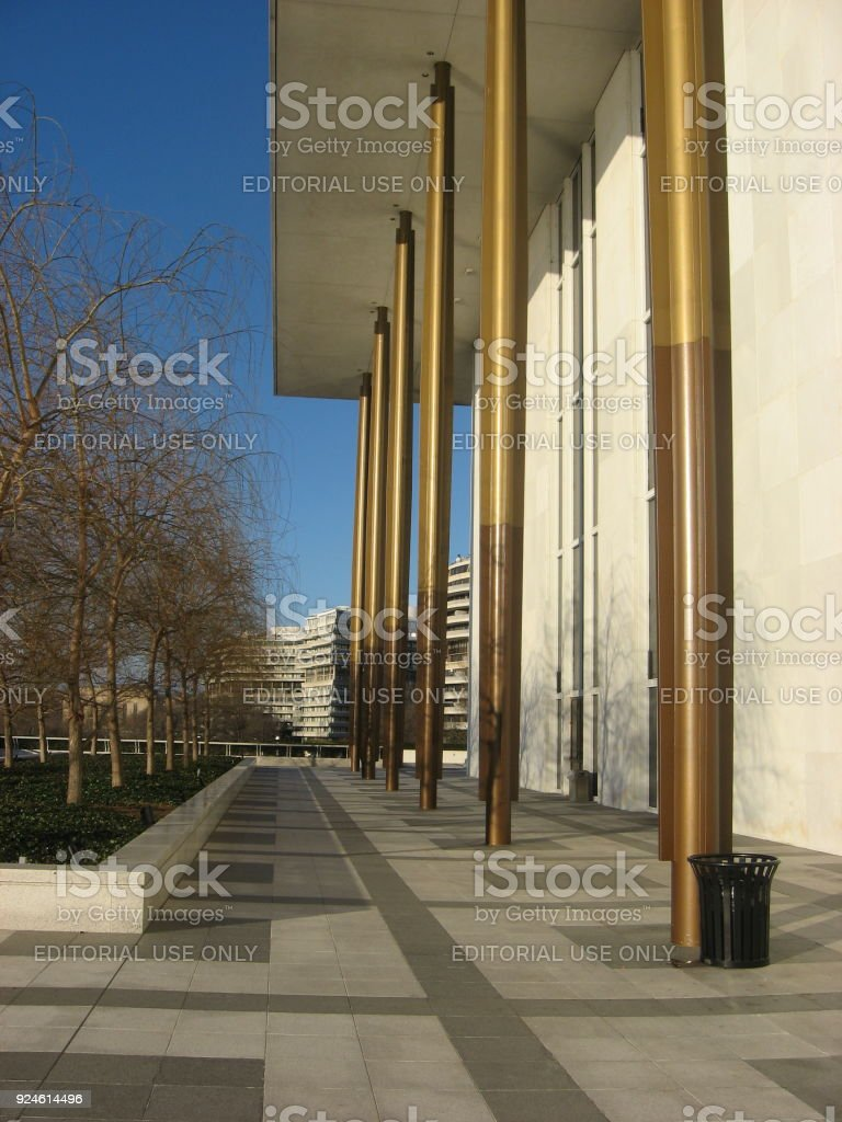 Kennedy Center stock photo