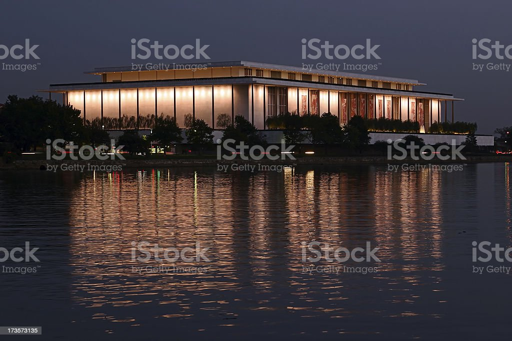 Kennedy Center - Washington, DC stock photo