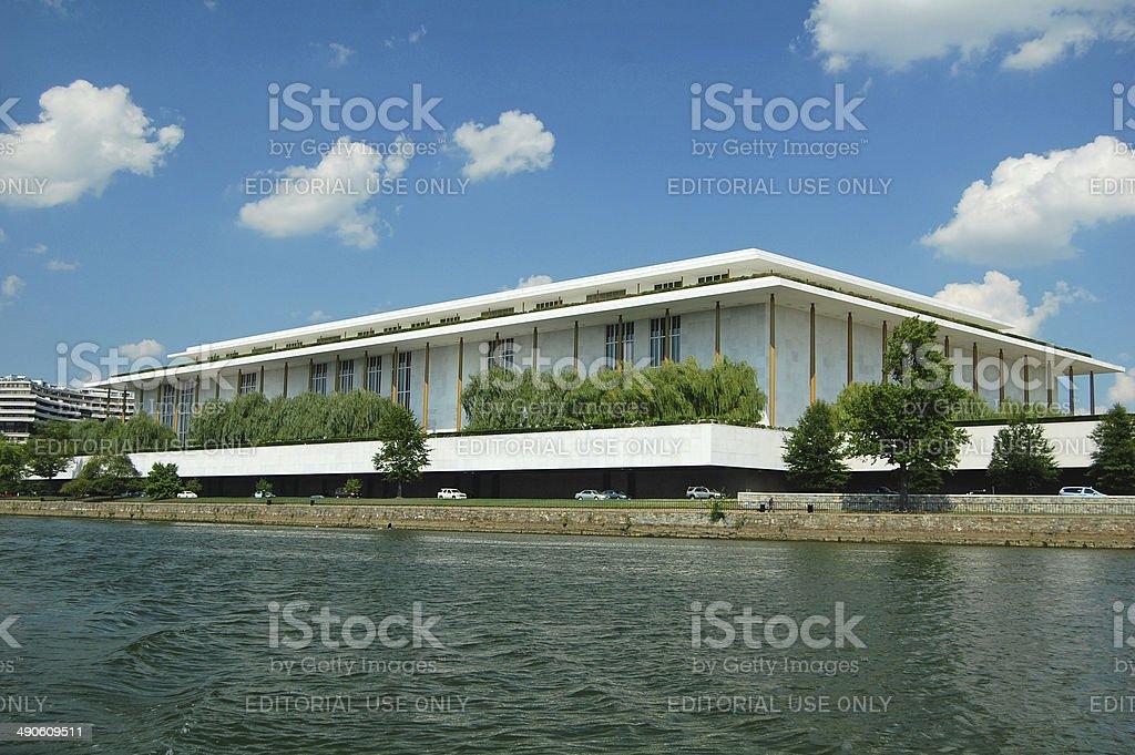 kennedy center, washington stock photo
