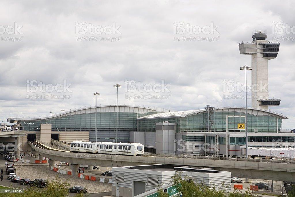 Aeropuerto Internacional John F Kennedy - foto de stock