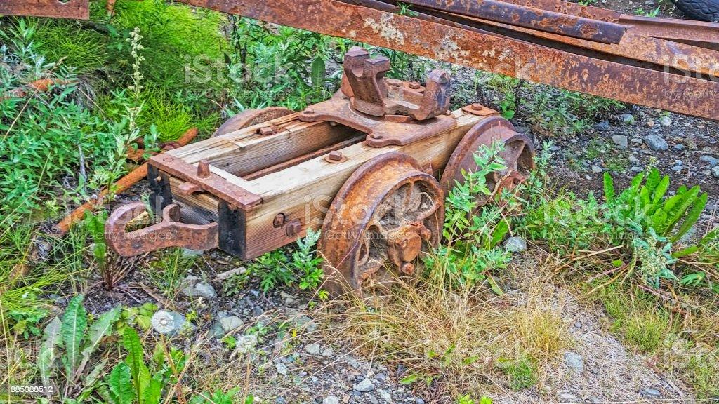 Kennicott Mine- Alaska stock photo