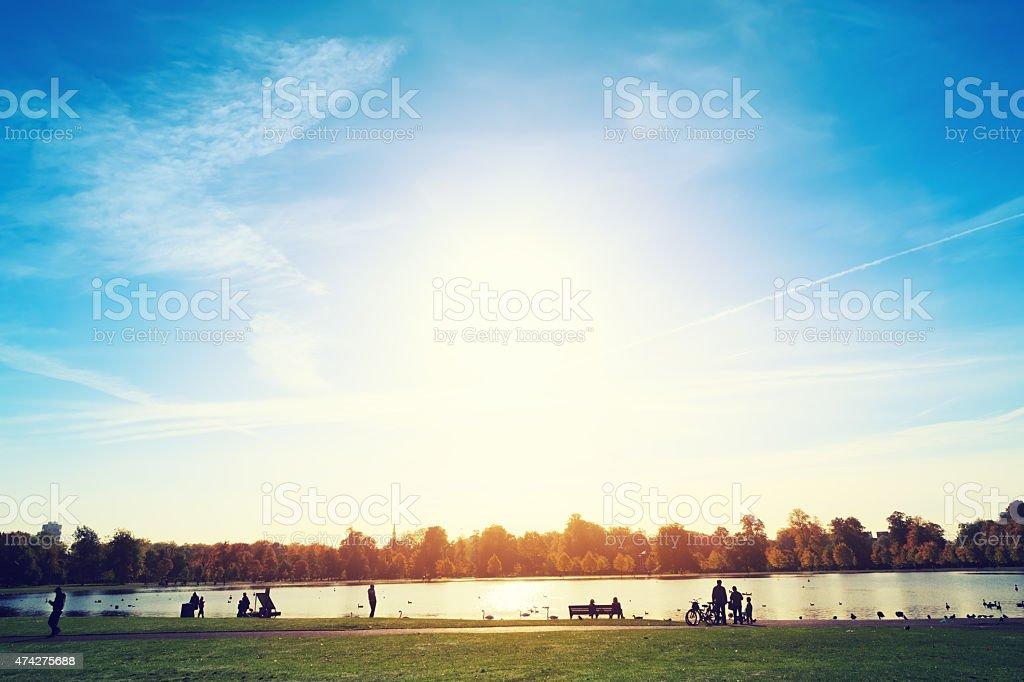Kensington Gardens stock photo