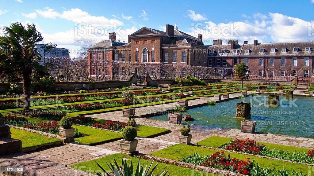 Kensington Palace and Gardens, London, England, United Kingdom. stock photo