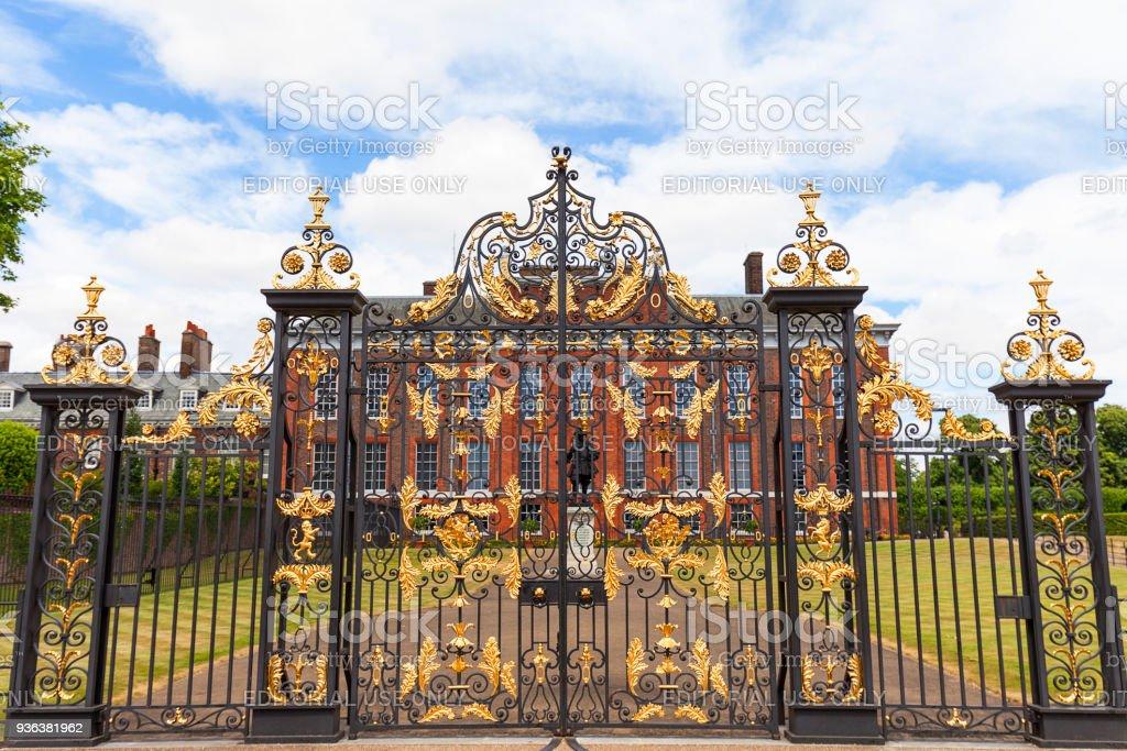 Kensington Palace in Kensington Gardens, London, Verenigd Koninkrijk - Royalty-free Architectuur Stockfoto