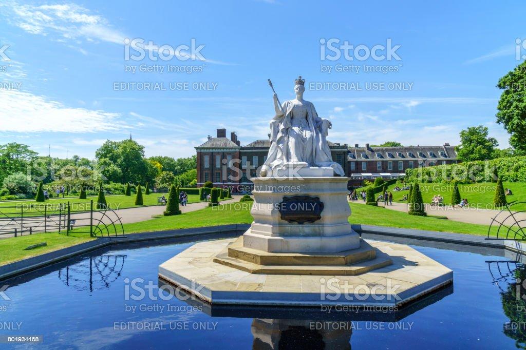 Kensington Palace London stock photo