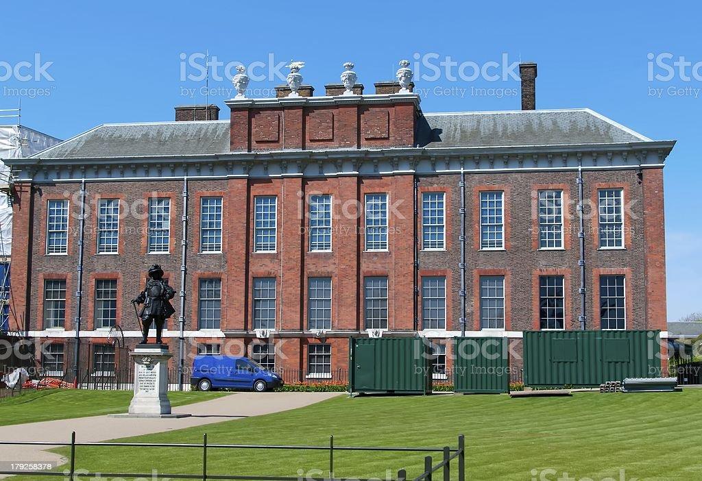 Kensington Palace royalty-free stock photo