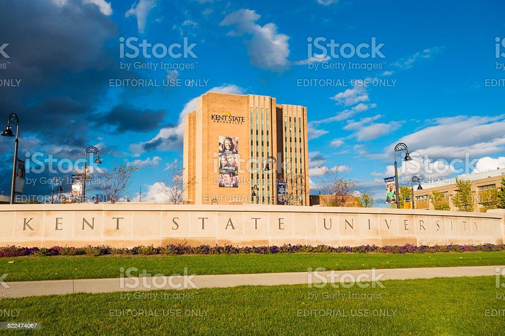 Kent State University, Ohio stock photo