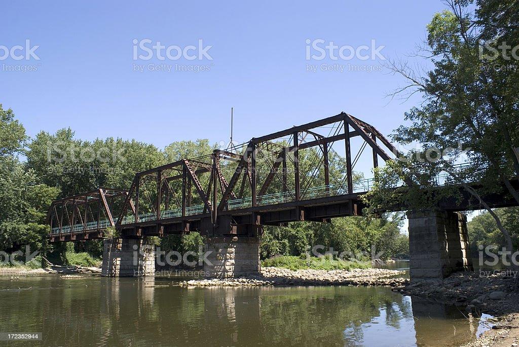 Kent Trails Railroad Bridge I royalty-free stock photo