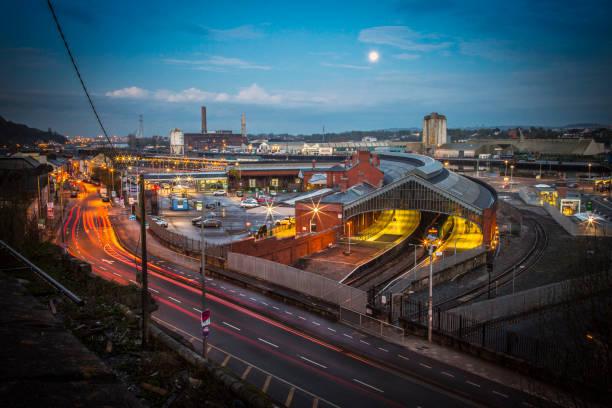 Kent Train Station Cork, Ireland stock photo