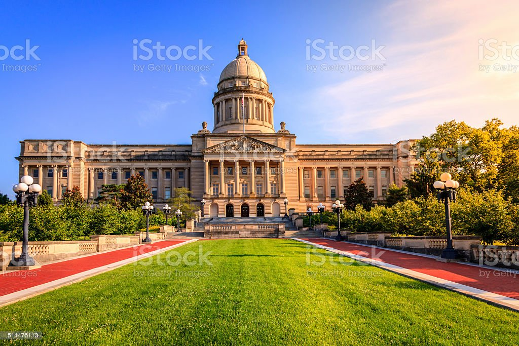 Kentucky Capitol stock photo