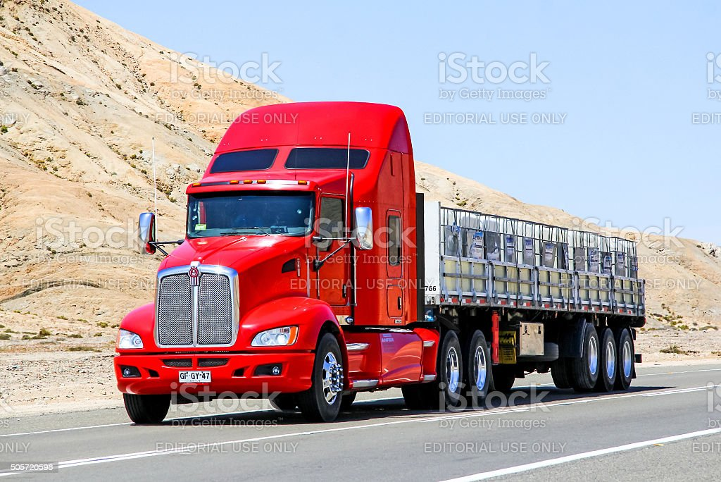 Kenworth T660 stock photo