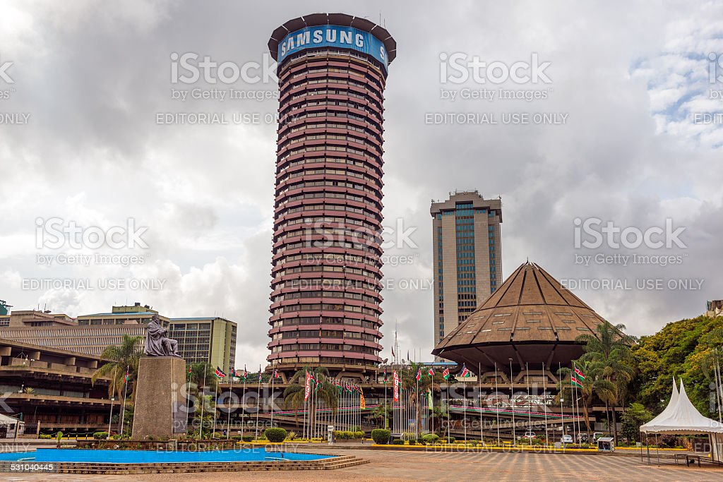 Kenyatta International Conference Centre stock photo