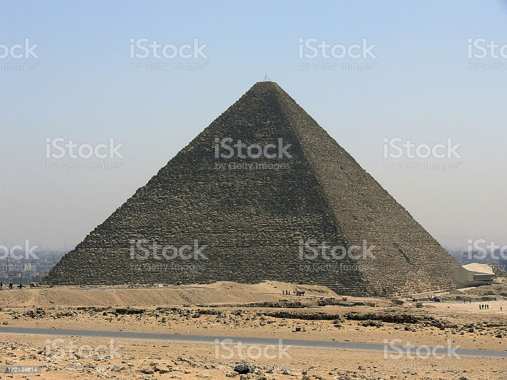Keops Pyramid royalty-free stock photo