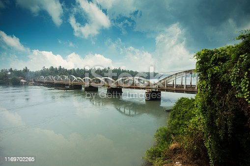 Korapuzha, also known as Elathur River, is a short river of 40 km, with a drainage area of 624 km², flowing through the Kozhikode district of Kerala state in India. It is formed by the confluence of two streams, Akalapuzha and Punoor puzha which originate in the mountains of Wayanad district.