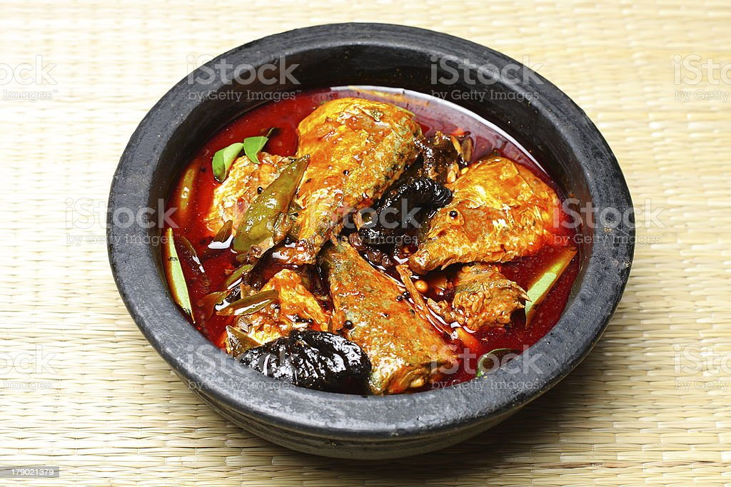 Kerala fish curry . royalty-free stock photo