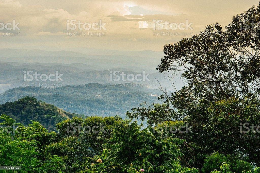 Kerala Mountains stock photo