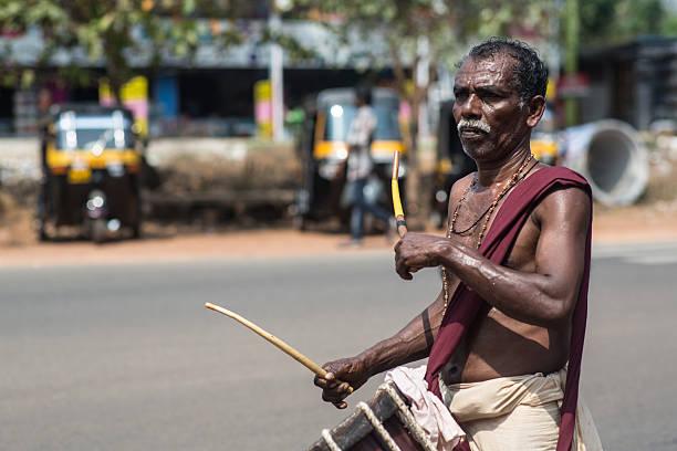 Kerala_festival_drummer – Foto