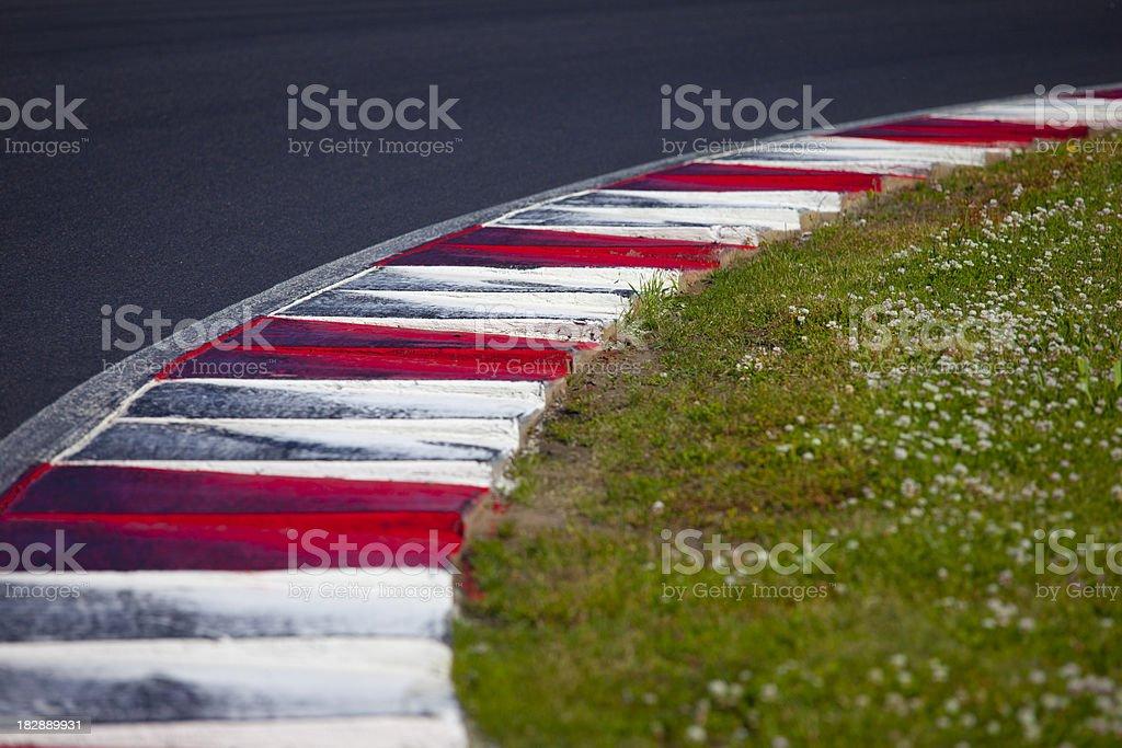 FIA Kerb Corner royalty-free stock photo