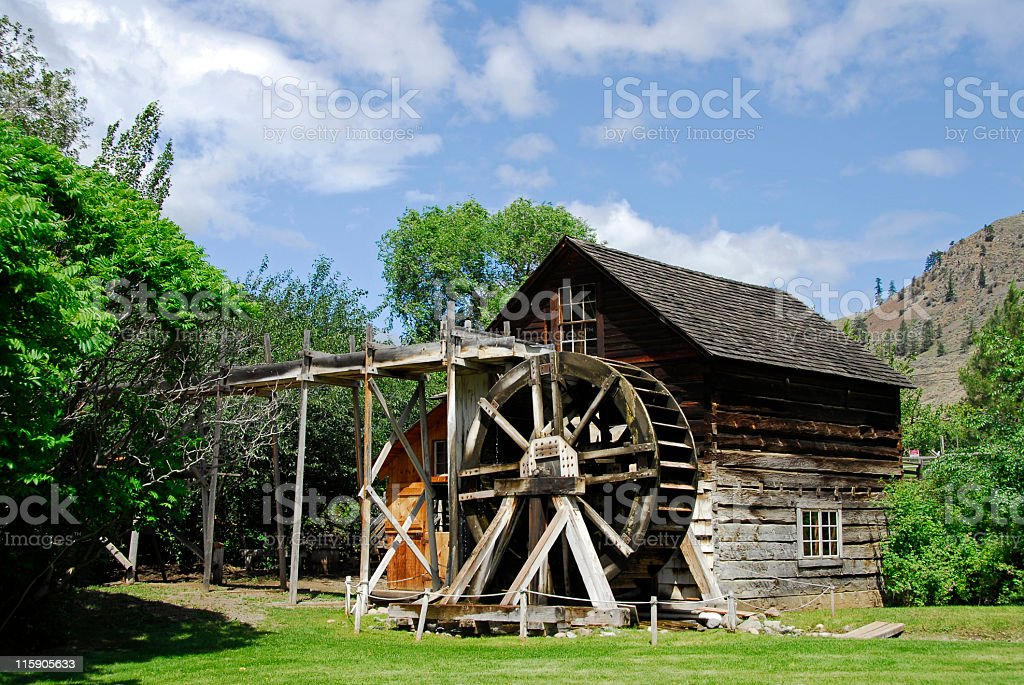 Keremeos Grist Mill royalty-free stock photo