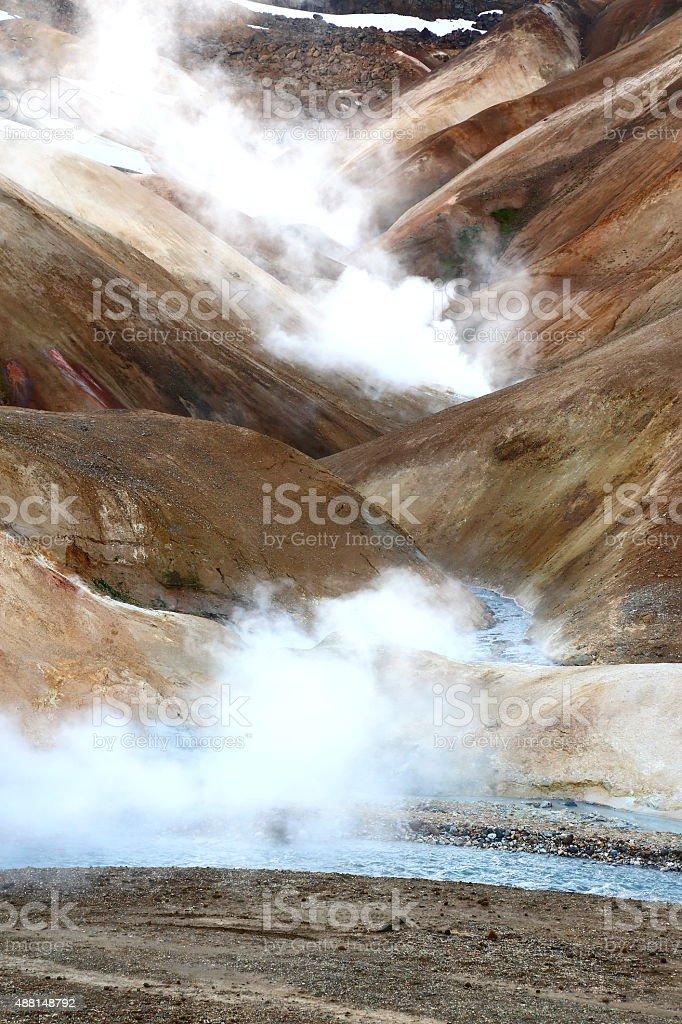 Kerlingarfjöll, Iceland stock photo