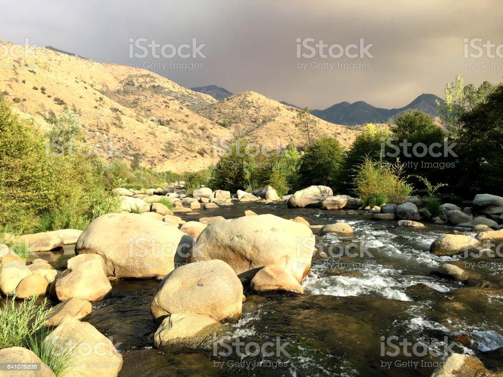 Kern River stock photo