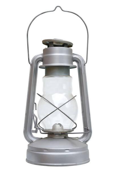Kerosene lamp stock photo