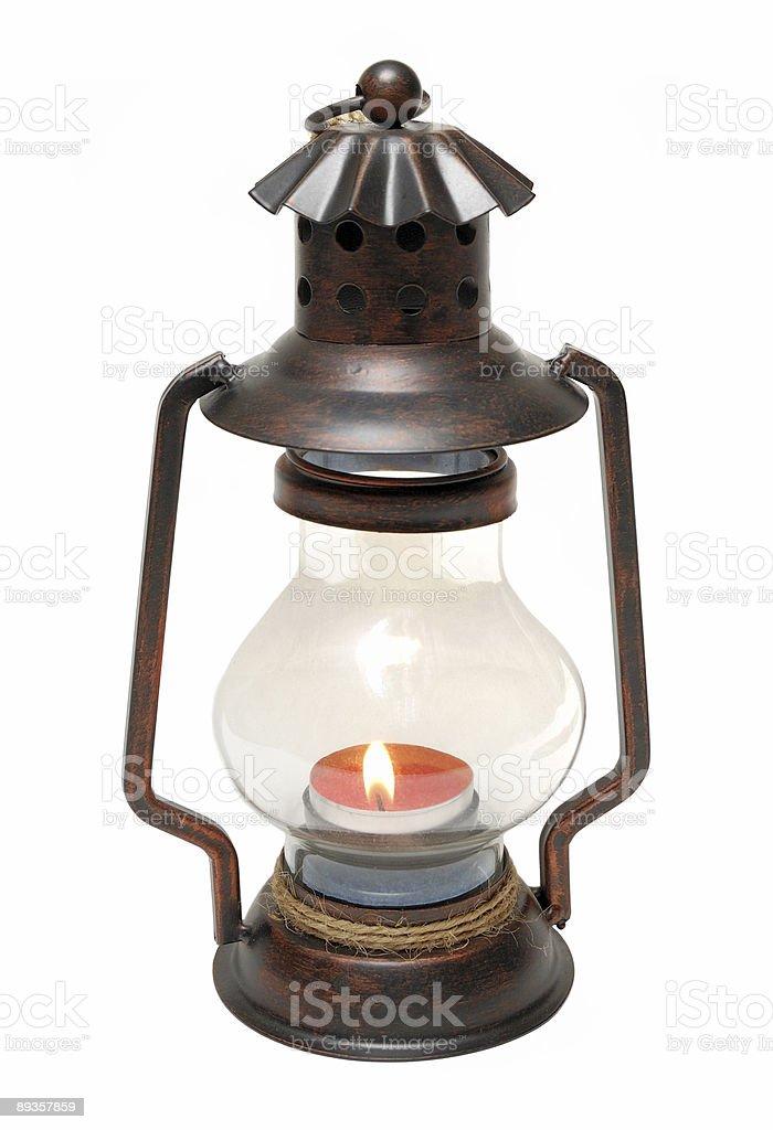 Kérosène lanterne photo libre de droits