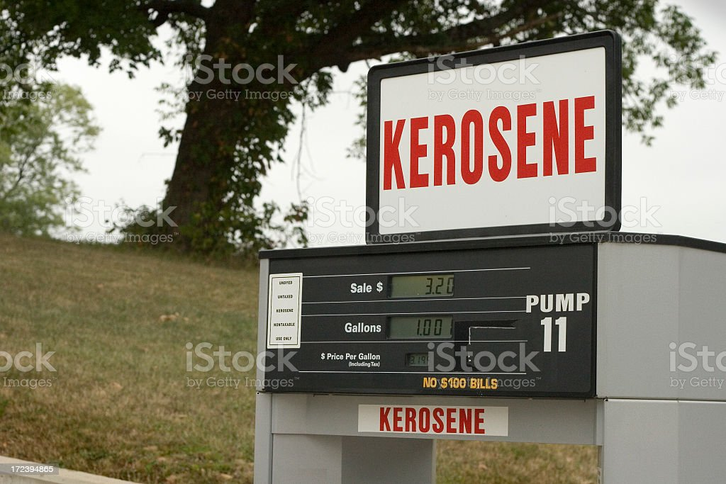 Kerosene Pump royalty-free stock photo