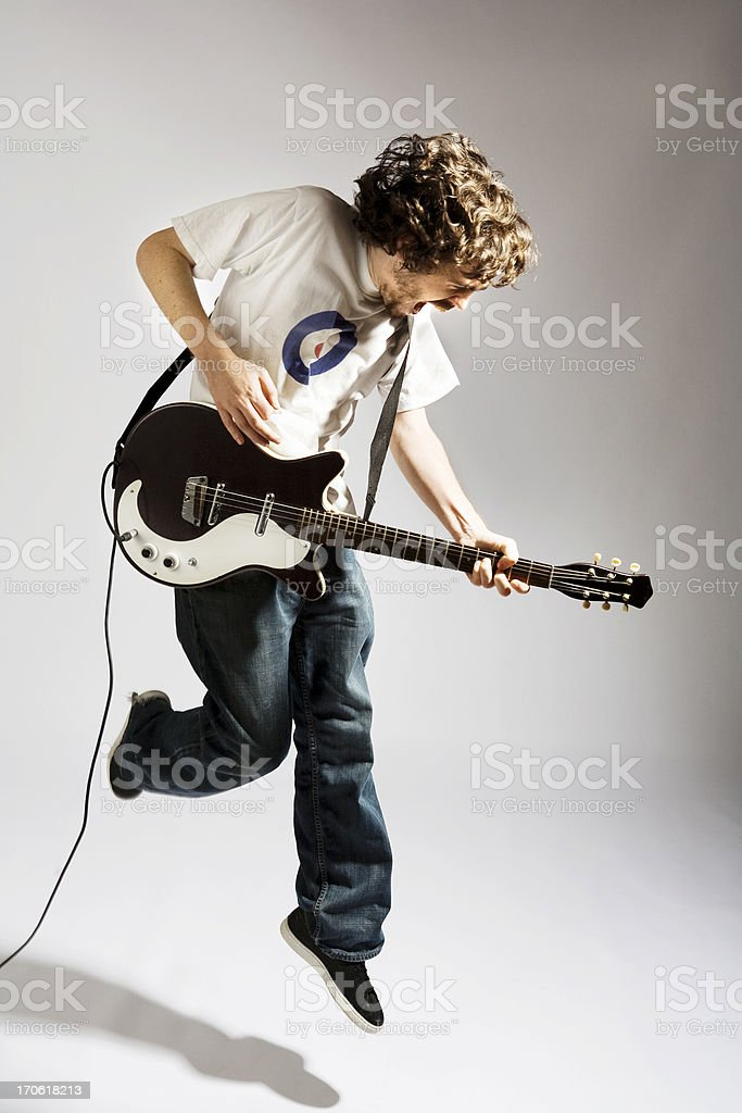Kerrrrrang! stock photo